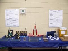 2015 Boys Tennis Baquet Awards Table