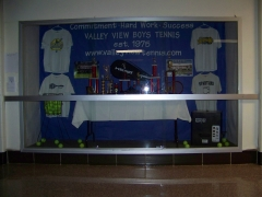 2015 Boys Tennis Display