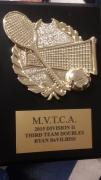 2015 MVTCA 3rd Team Doubles Ryan DeVilbiss