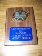 2016 JV Captain Michael Fischer