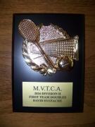 2016 MVTCA 1st Team Doubles David Eustache