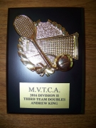2016 MVTCA 2nd Team Doubles Andrew King