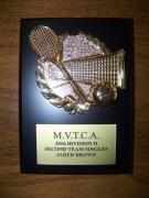 2016 MVTCA 2nd Team Singles Jared Brown