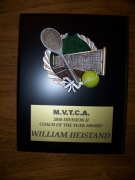 2016 MVTCA Coach Of The Year William Heistand