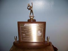 2016 SWBL Tournament Champion Trophy