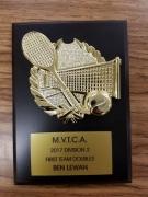 2017 MVTCA 1st Team Doubles Ben Lewan