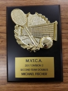 2017 MVTCA 2nd Team Doubles Michael Fischer