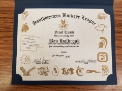 2017 SWBL 1st Team Ben Holbrook