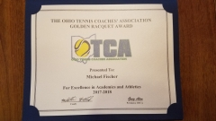 2018 Golden Raquet Award Michael Fischer