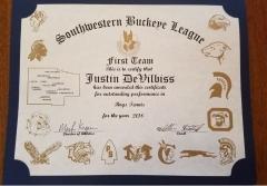 2018 SWBL 1st Team Justin DeVilbiss