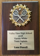 2018 Varsity White Captain Lane Powell
